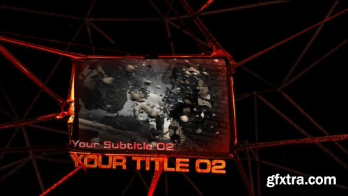 Videohive Spider Web Screens 9687320