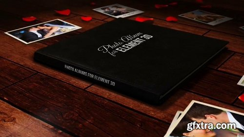 Videohive The Photo Album for Element 3D 14115429