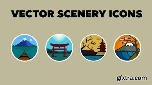How to Design Vector Scenery Icons In Adobe Illustrator
