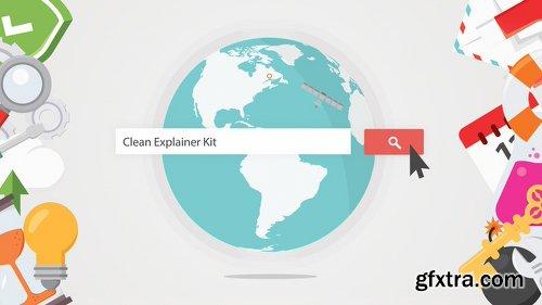 Videohive Clean Explainer Kit 7940255