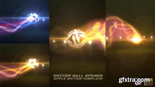 Videohive - Soccer Opener - Apple Motion - 16396976