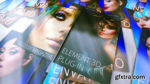 Videohive Glossy Magazine 6582148