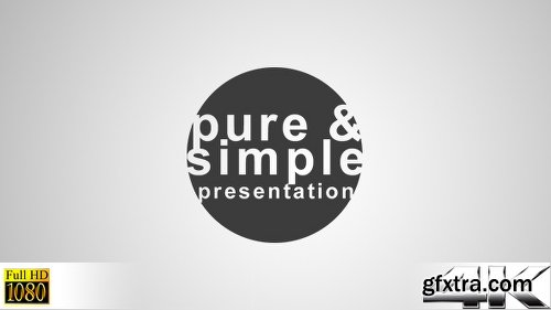 Videohive Pure and Simple - Presentation 6168362
