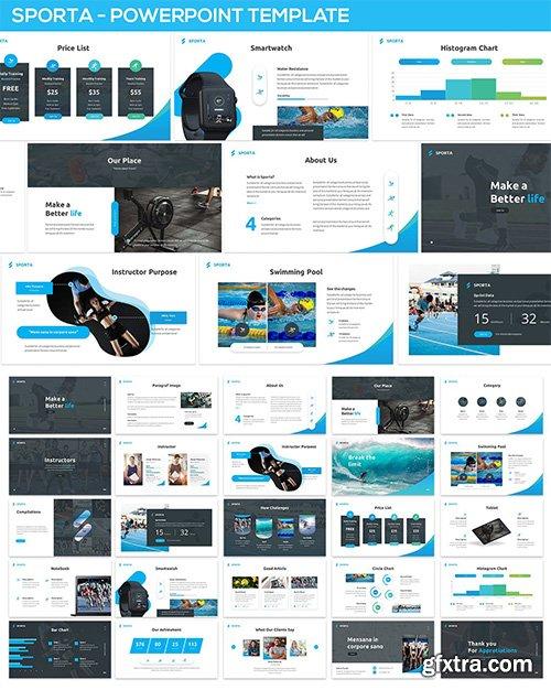 Sporta - Powerpoint Presentation Template
