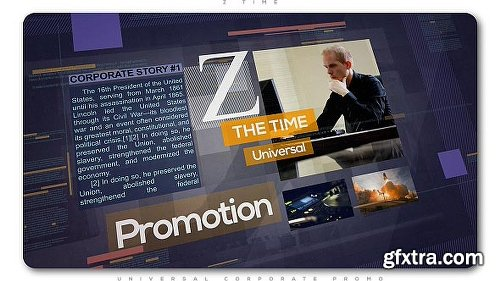 Videohive Z Time | Universal Corporate Promo 20840411