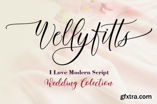 Wellyfitts Font