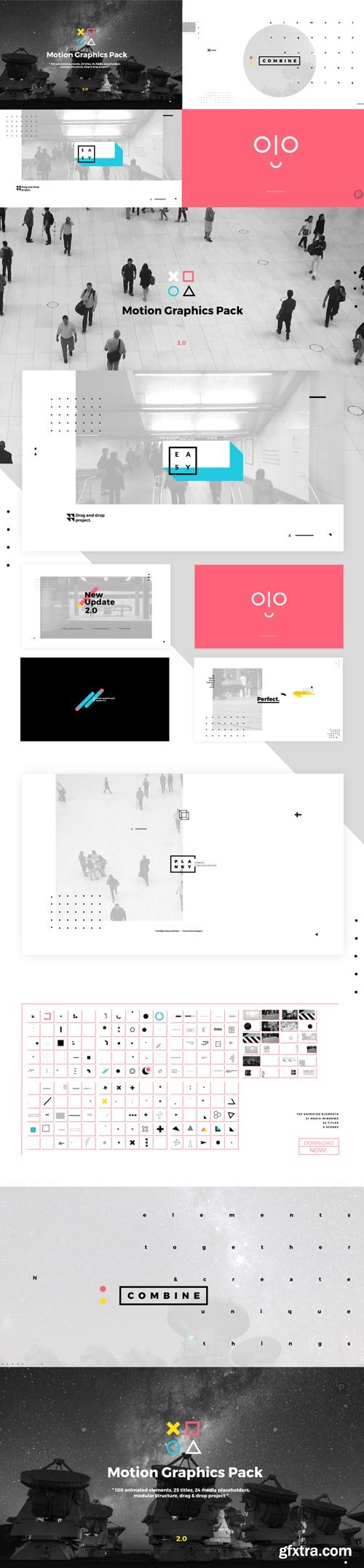 Videohive - Motion Graphics Pack - 19587884