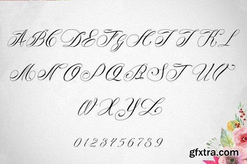 CreativeMarket Midnight Typeface 1771875