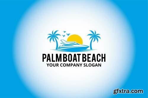 palm boat beach logo