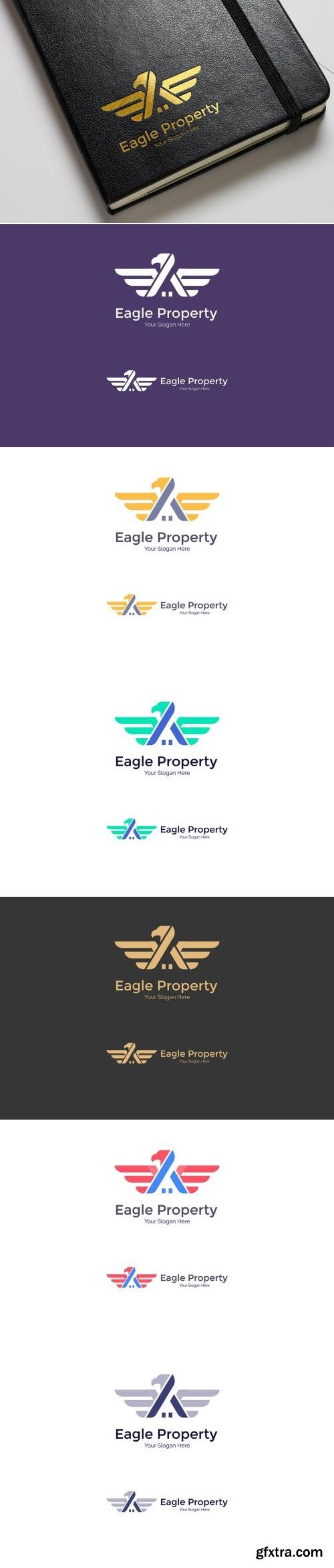 Eagle - Property, Real Estate Logo
