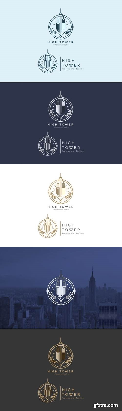 High Tower - Building Logo
