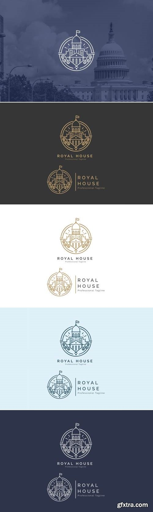 Royal House - Building Logo