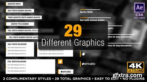 Videohive Newsworthy Titles and Lower Thirds 19543168