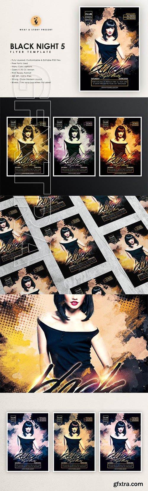 CreativeMarket - Black Night 5 2659073
