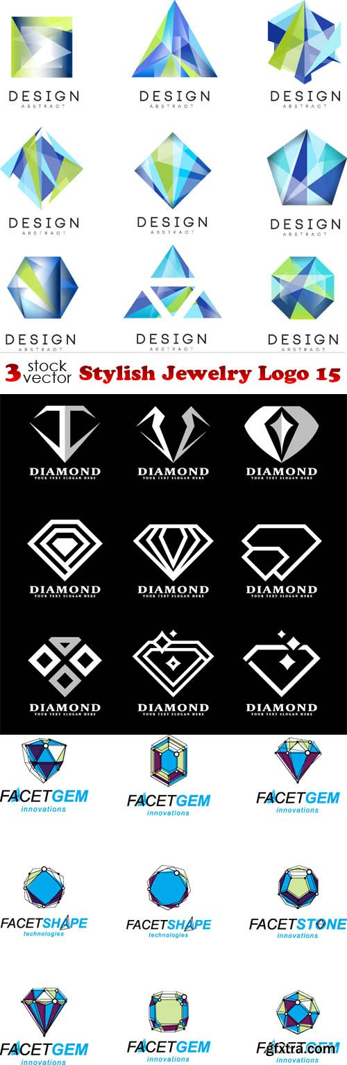 Vectors - Stylish Jewelry Logo 15