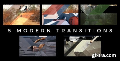 Videohive - Modern Transitions 5 Pack - 18298717