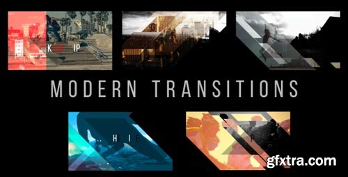 Videohive - Modern Transitions 5 Pack Volume 3 - 18798961