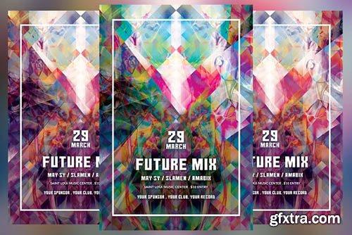 CreativeMarket - Future Mix Flyer 2606488