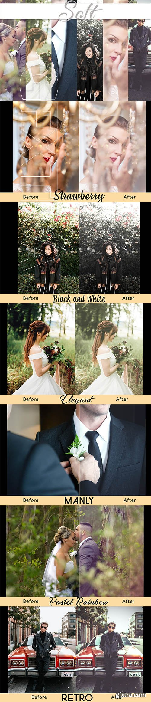 CreativeMarket - Soft - Photoshop Actions 2608802