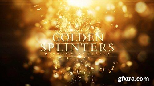 Videohive Golden Splinters 21690758