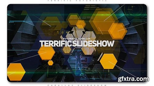 Videohive Terrific Futuristic Slideshow 20635699
