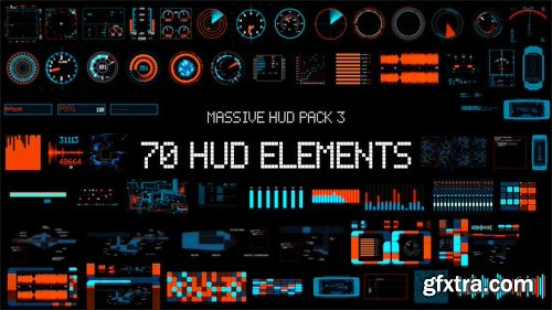 Videohive Massive HUD Pack 3 8070978
