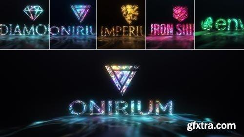 Videohive - Gems & Lights - Gemstones Logo Reveal Pack - 21760104