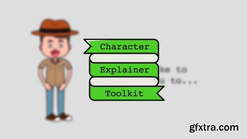 Videohive Outline Character Explainer Toolkit 9318910