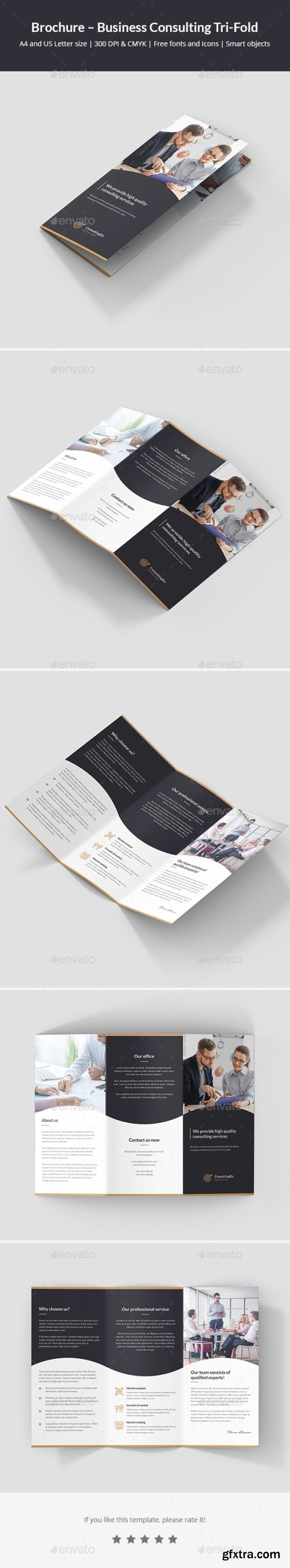 Graphicriver - Brochure - Business Consulting Tri-Fold 22015194