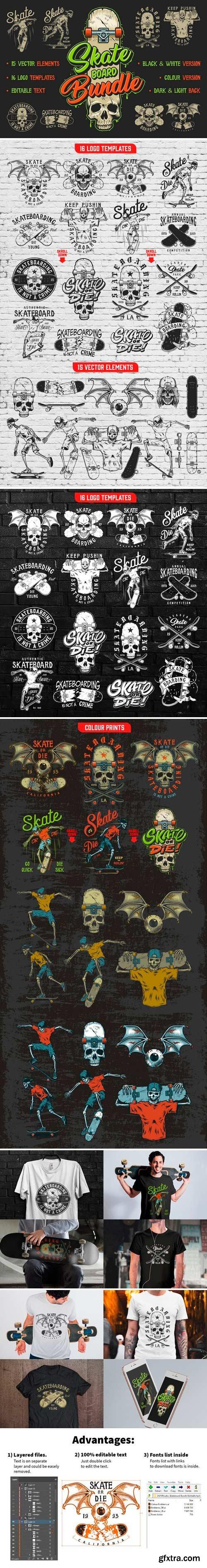 CM - Skate board bundle 2544365