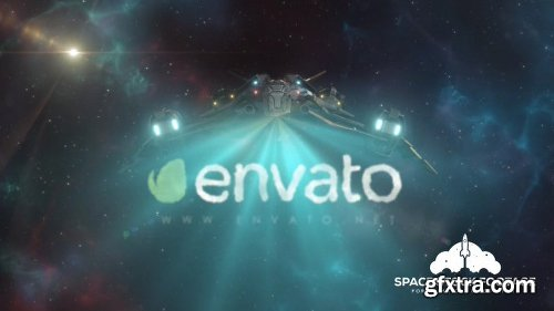 Videohive Spaceship Logo Reveal 2 12537375