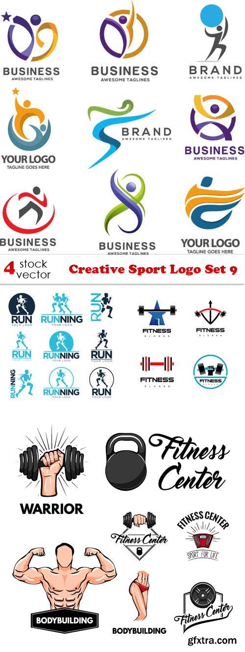 Vectors - Creative Sport Logo Set 9