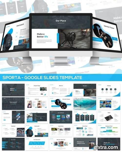 Sporta - Google Slides Presentation Template