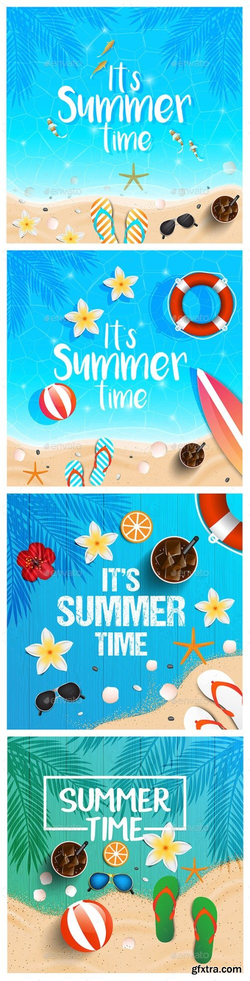 Graphicriver - Summer Time Background 22121123