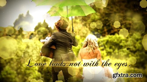Videohive Wedding Particles Opener - Apple Motion 20262936