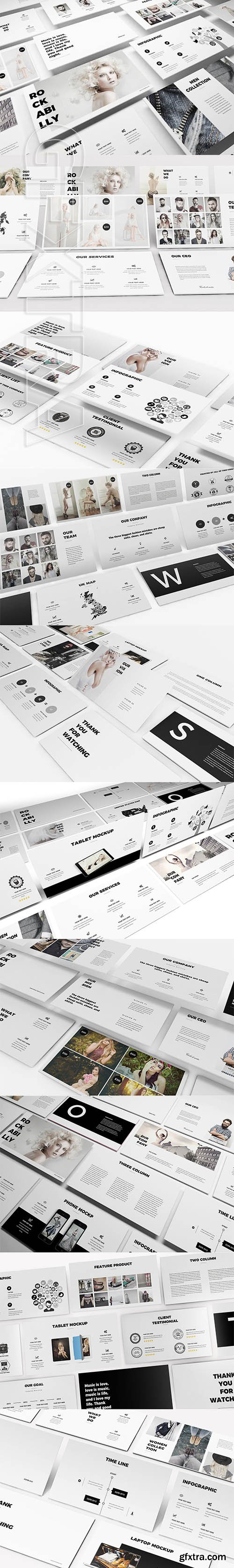 CreativeMarket - Fashion Google Slides Template 2442532