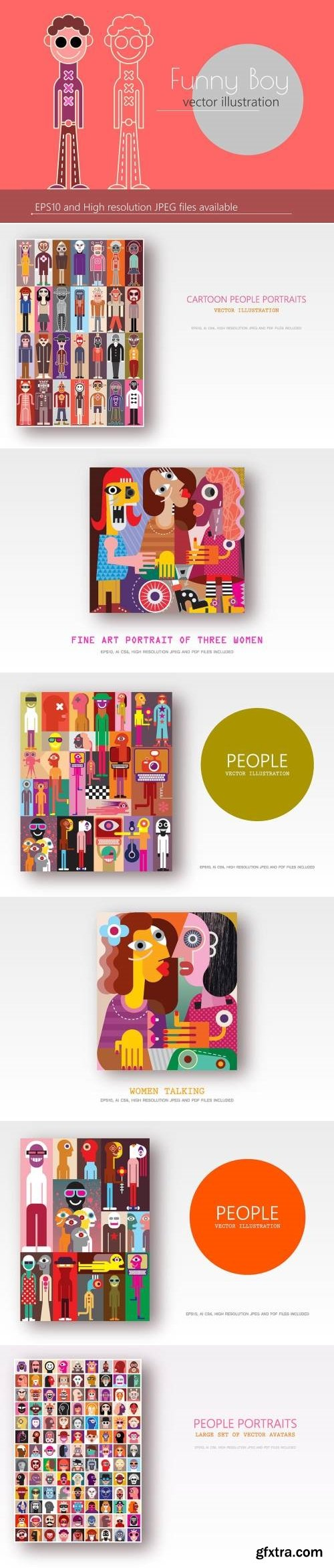 Abstract Vector Bundle