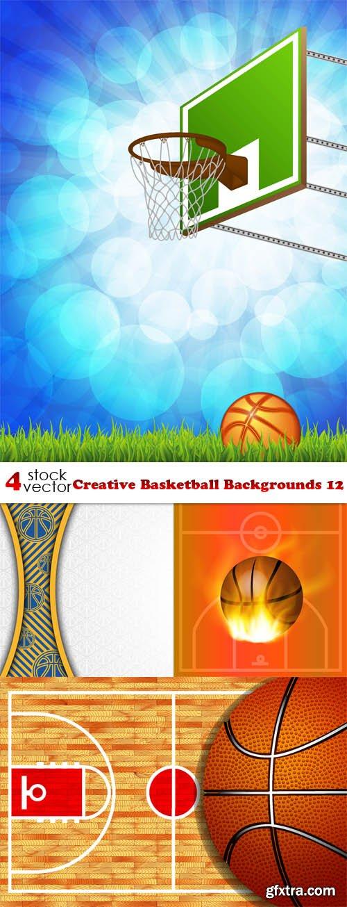 Vectors - Creative Basketball Backgrounds 12