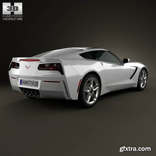 Chevrolet Corvette Stingray (C7) 3d Model