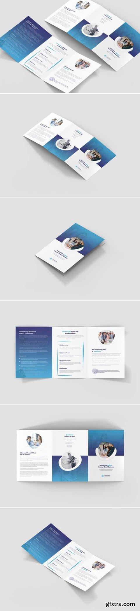 Brochure – Interactive Agency Tri-Fold A5