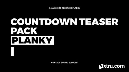 Videohive Countdown Teaser 21037722