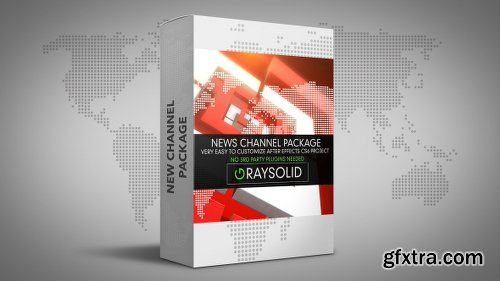 Videohive Square News Package 18834205