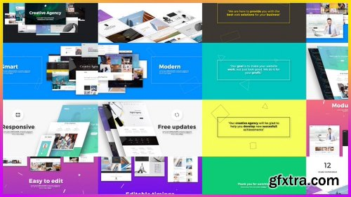 Videohive Creative Agency // Website Presentation 18979233