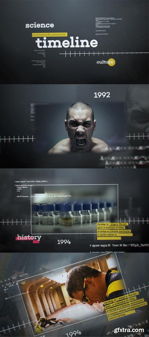 Videohive - Abstract 3D Timeline - 10462858