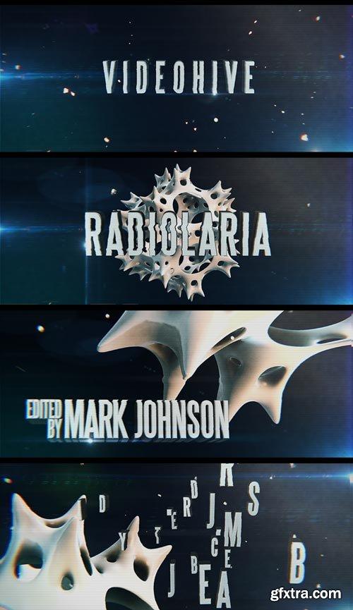 Videohive - Radiolaria Trailer - 8405537