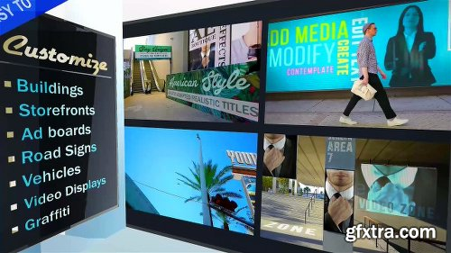 Videohive AD - City Titles Mockup Business Intro 21924523