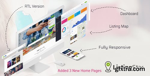 ThemeForest - Listingstar - Directory & Listings HTML Template (Update: 20 May 18) - 21074483