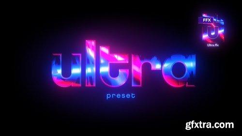 Videohive Ultra Preset 21658460