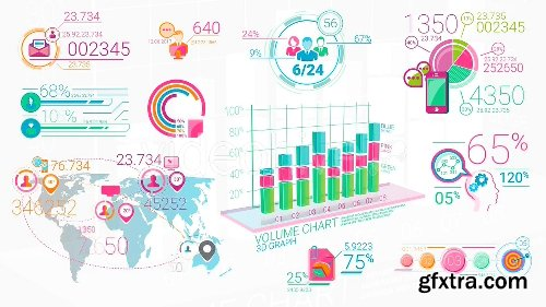 Videohive Colorfull Corporate Infographic Elements 20882216