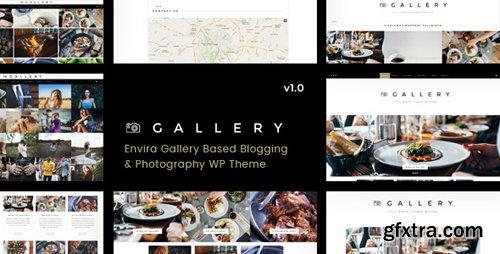 ThemeForest - Gallery v1.0.3 - Blogging & Envira Gallery WordPress Theme - 16951938